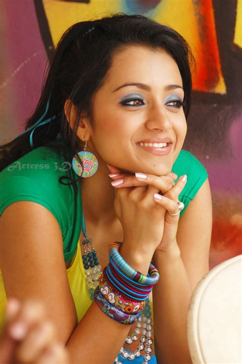 trisha hot sexy  actress hot sexy cleavage navel