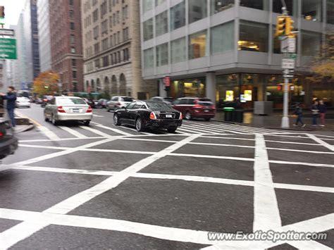 Maserati Manhattan by Maserati Quattroporte Spotted In Manhattan New York On 11