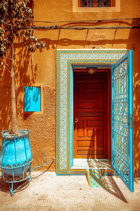moroccan colors morocco the combination of colors is