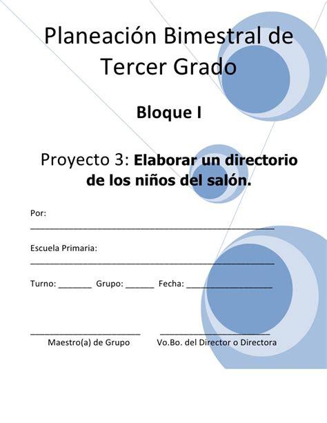 proyecto educacion vial 3 grado feria de ciencia 3er grado bloque i proyecto 3