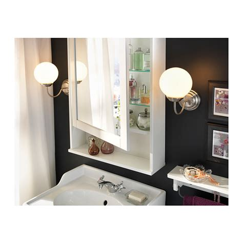 ikea bathroom mirror cabinet hemnes mirror cabinet with 1 door white 63x16x98 cm ikea