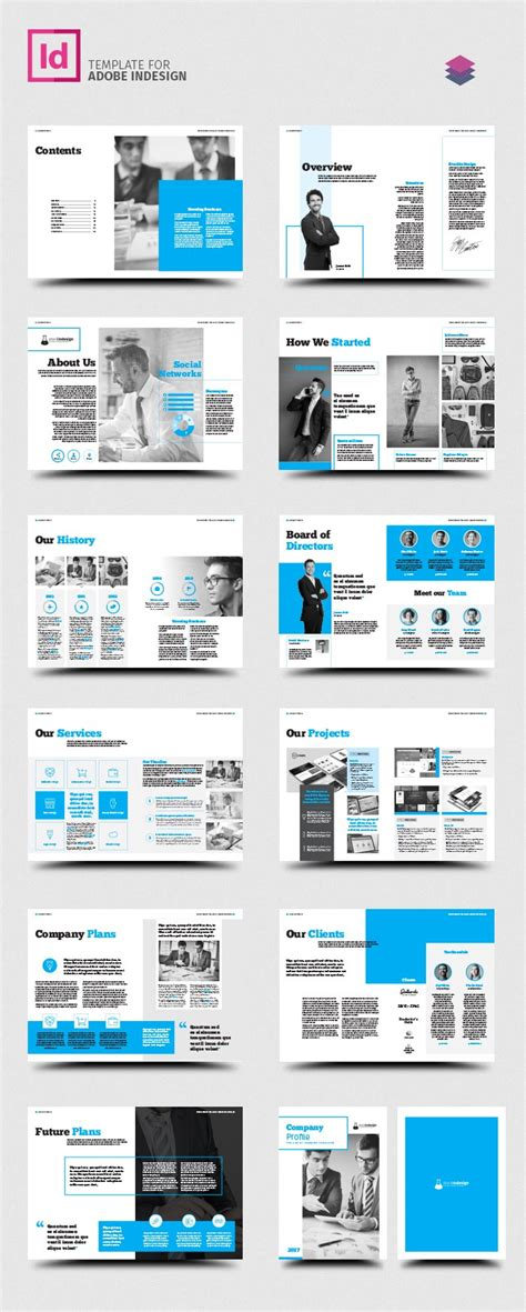 Company Profile Stockindesign Company Profile Template