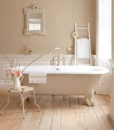 Shabby chic bathroom elegant beige png