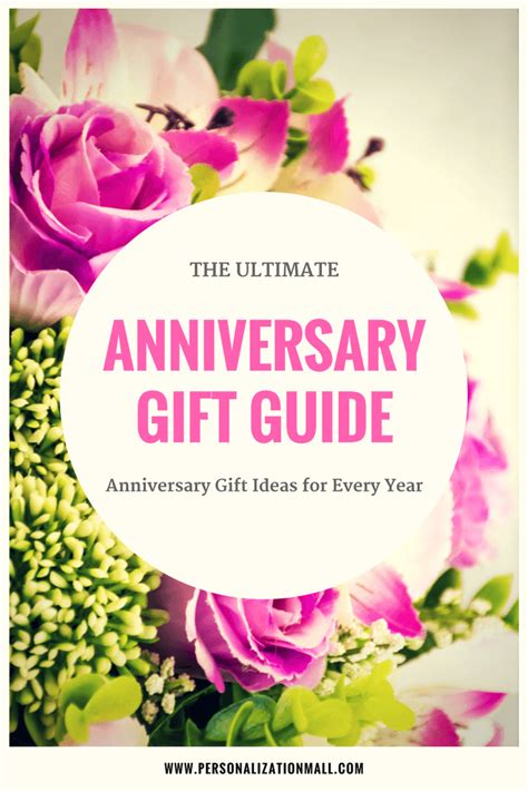 Wedding Anniversary Gift Guide by Wedding Anniversary Gifts By Year A Complete Guide