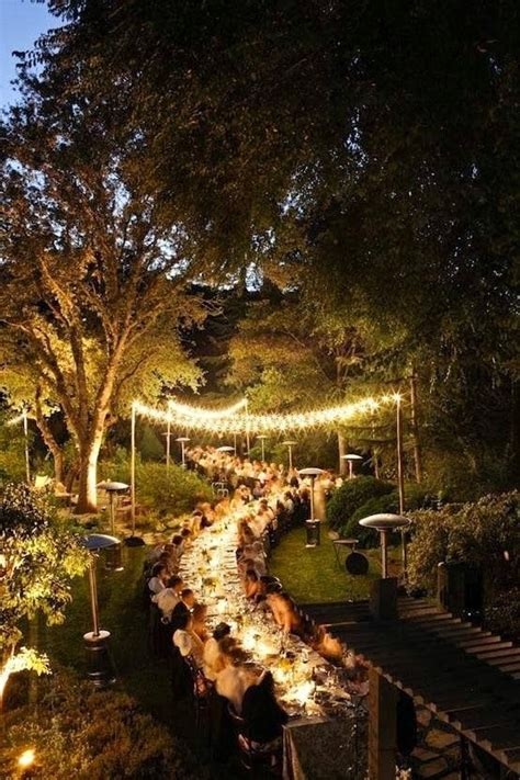 Outdoor Wedding Lights Decorations Simple Outdoor Wedding Decorations Unique Wedding Ideas