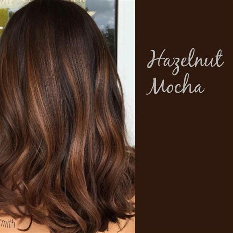 light mocha color hazelnut mocha hairstyles brown hair balayage mocha