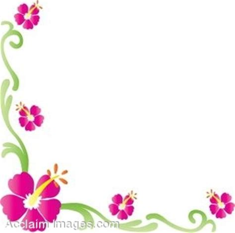 small flower borders clipart