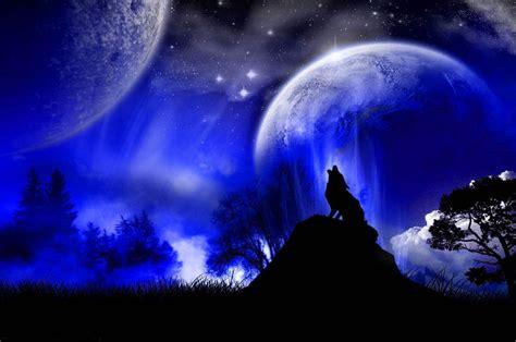 imagenes de paisajes en la noche fondo escritorio paisaje aullidos en la noche