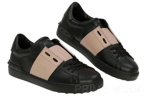 valentino sneakers mens new valentino garavani s black mauve rockstud sneakers