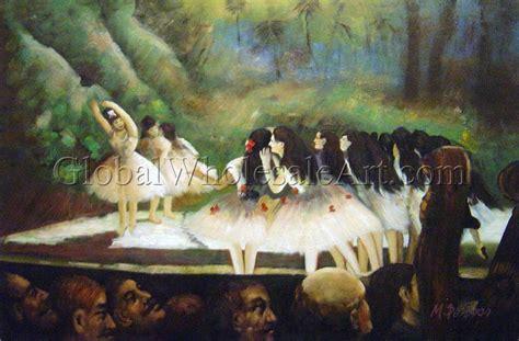 oil paintings global wholesale art edgar degas ballet of the paris opera oil paintings on