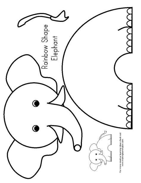 25 best ideas about preschool elephant crafts on