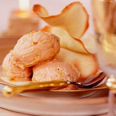Tuile Biscuit Recipe by Orange Tuile Biscuits Dessert Recipe Housekeeping