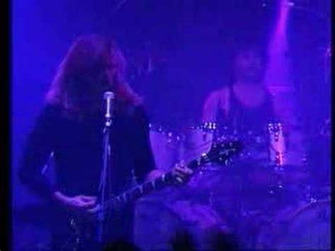 darkest hour in denver megadeth in my darkest hour live 1999 youtube