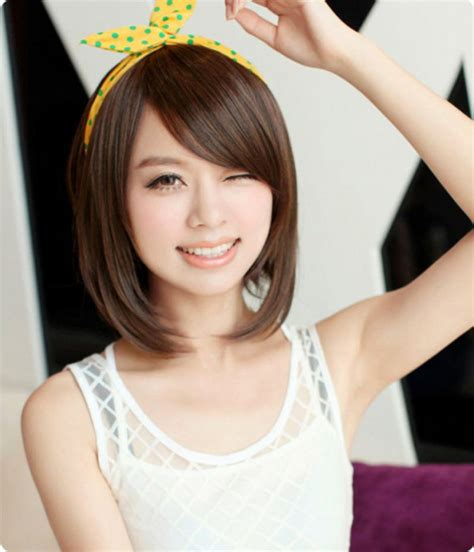 long hair styles photos for chubby korean haircut for long hair round face www pixshark com