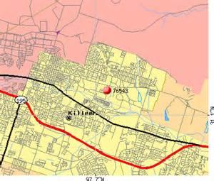 map of killeen and surrounding cities 76543 zip code killeen profile homes