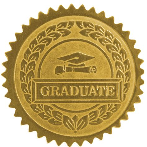certificate seal template graduate seal jones school supply