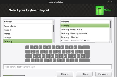 arch linux keyboard layout install manjaro linux an arch linux based operating system