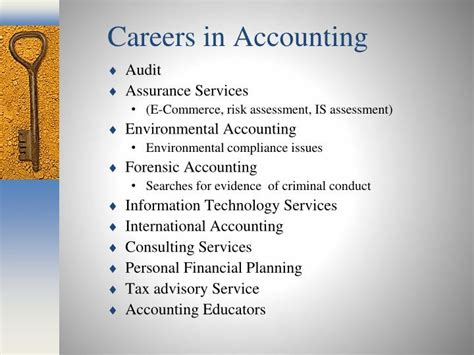 Careers With Mba In Accounting ppt the of toledo college of business and