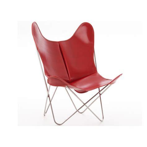 housse pour canapé en cuir housse de fauteuil aa butterfly en peau de vache par airborne