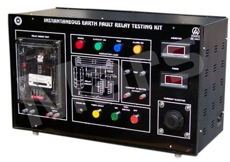 instantaneous earth fault relay testing kit