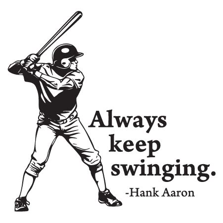 keep on swinging always keep swinging wall quotes decal wallquotes com