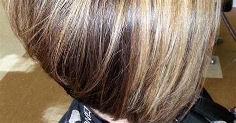 inverted bob for people in their 50s inverted bob a line cut this model is over 50 trendy