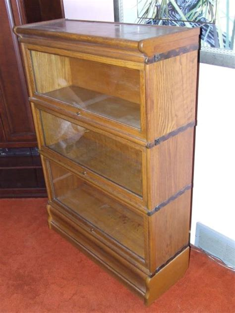 Antique Bookcase Collectibles General Antiques Macey Barrister Bookcase