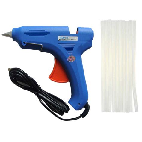 Jual Glue Stick Lem Tembak by Glue Gun 80w With 10pcs Glue Sticks Best Deals Nepal