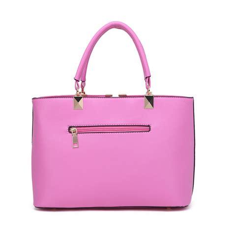 Bag For Pink s1717 miss lulu shoulder bag pink