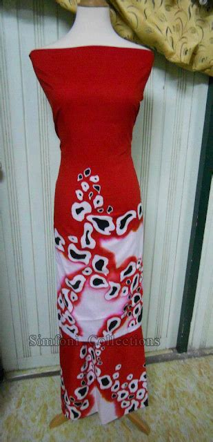 design batik lukis terkini simfoni collections mencari batik lukis cotton asli