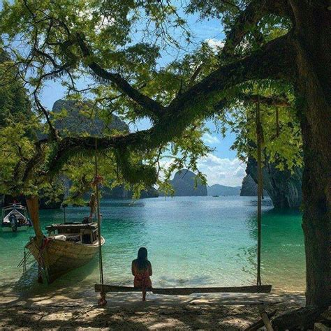 thai swing krabi thailand to be on that same swing bucket list