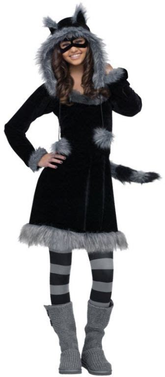 7 Modest Yet For by Raccoon Costume A Modest Yet Costume