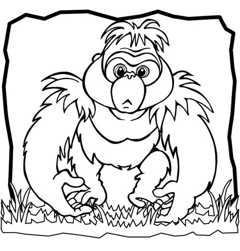 coloring book trend trend gorilla coloring pages pefect color book 8755