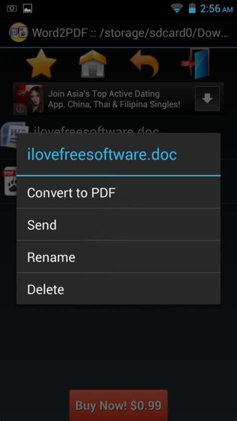 convert pdf to word love 4 free word to pdf converter apps for android