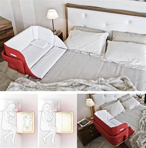 bed co sleeper the culla belly co sleeper attaches onto beds for easy access