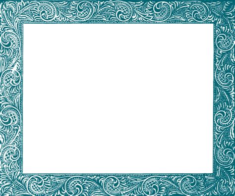 cards transparent template for a 4x6 another free photo frame clipart image oh so nifty