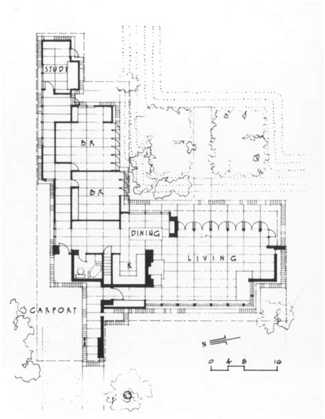 usonian floor plans house wisconsin 1936 frank lloyd wright frank lloyd wright lloyd