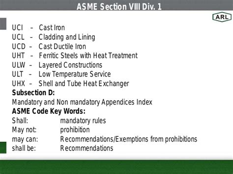 asme section i asme asme sec viii div 1
