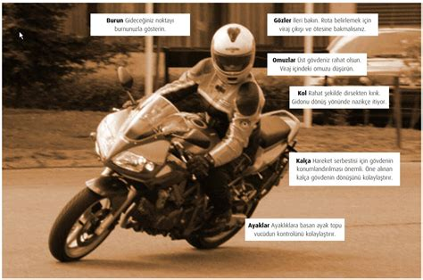 motosiklet ileri duezey suerues teknikleri