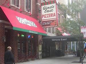 Italian Pizza Kitchen Menu by Gino S East One Of The Best Deep Dish Pizzas In Chicago
