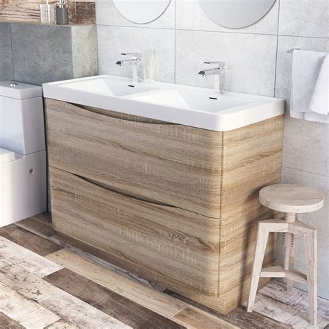 1200 bathroom vanity units erin floor standing 1200 vanity unit basin light oak easy bathrooms