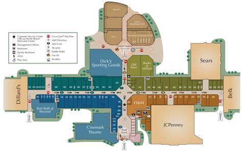 layout of fayette mall mall directory coastal grand mall