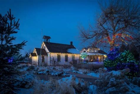 Denver Botanic Gardens Trail Of Lights Denver Winter Events Festivals 2016 The Denver Ear