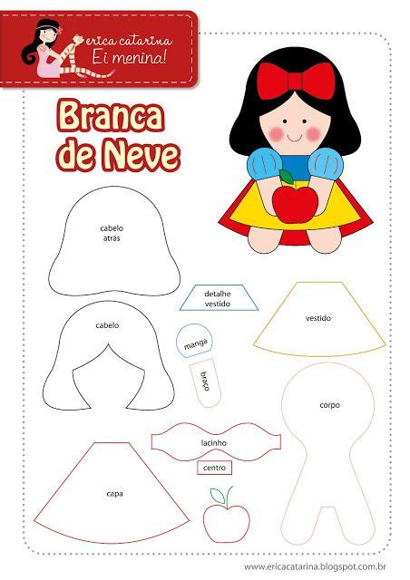 snow white pattern free sewing patterns felt patterns and snow on pinterest