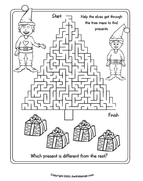 christmas activity sheets printables az coloring pages