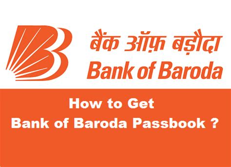 geting bank how to get a new bank passbook in bank of baroda