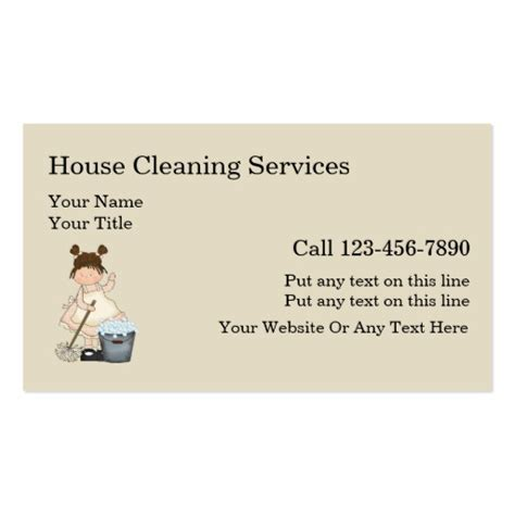 house cleaning house cleaning made easy how to clean simple house cleaning business cards zazzle
