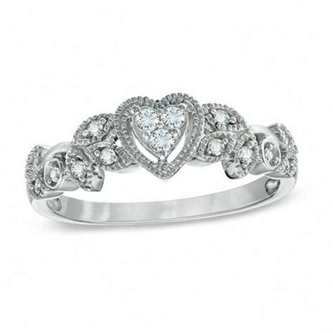 cherished promise collection 1 8 ct t w vintage