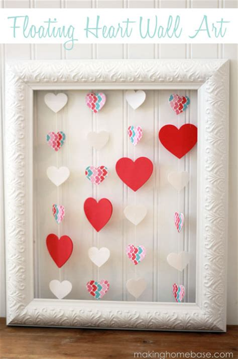 valentine decorations to make at home 13 creative diy valentine s day decorations shelterness