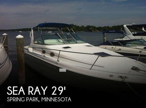 sea ray boats minneapolis canceled sea ray 290 sundancer boat in spring park mn